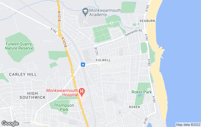 Map for Hunters, Fulwell