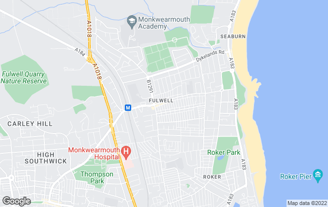 Map for Peter Heron Residential Sales and Lettings, Fulwell