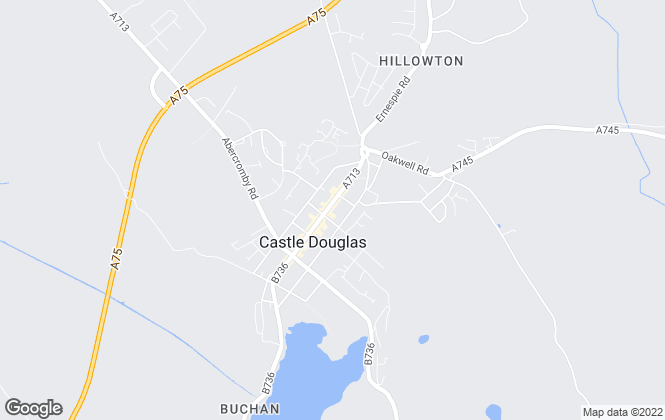 Map for Hewat Solicitors & Estate Agents, Castle Douglas