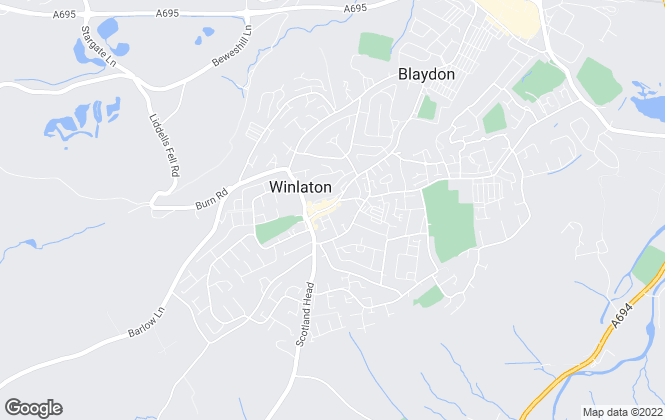 Map for YOUR MOVE, Winlaton