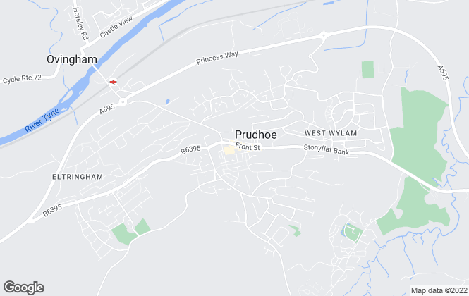 Map for YOUR MOVE, Prudhoe