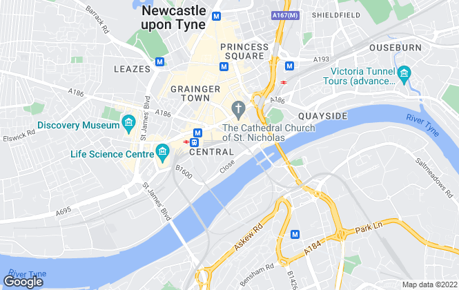 Map for ALD Lease Consulting, Newcastle Upon Tyne