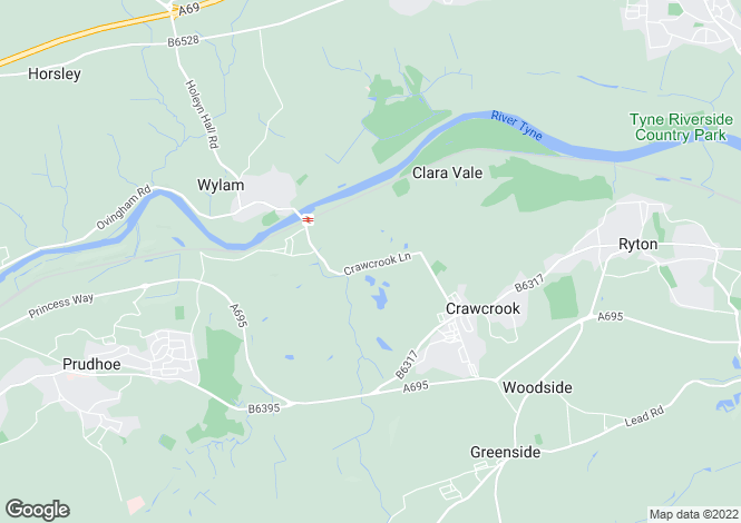 Map for The Steadings,