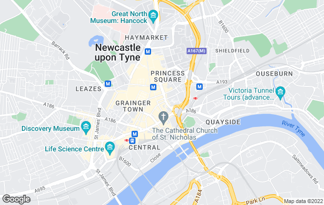 Map for Collis Edison LLP, Newcastle Upon Tyne