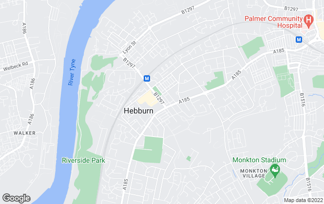 Map for Chase Holmes, Hebburn