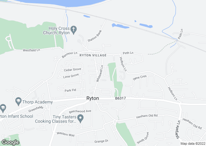 Map for Wallace Terrace, Ryton, Tyne And Wear, NE40