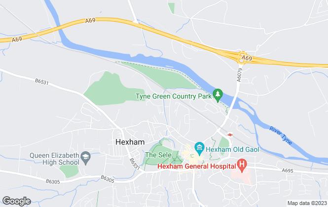 Map for Galbraith, Hexham