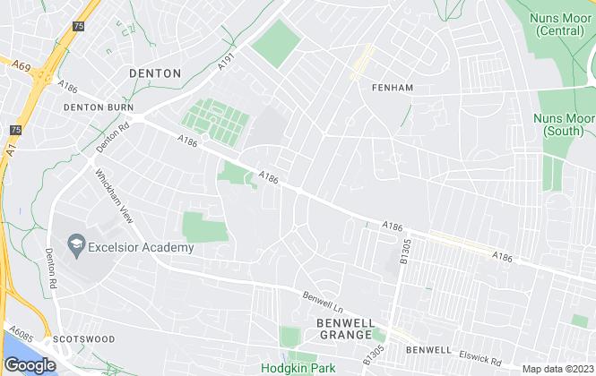 Map for Rook Matthews Sayer, Fenham