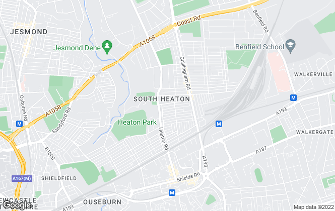 Map for Holmes & Hunters, Heaton
