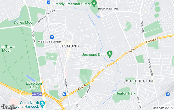 Map for Property Stop , Newcastle upon Tyne