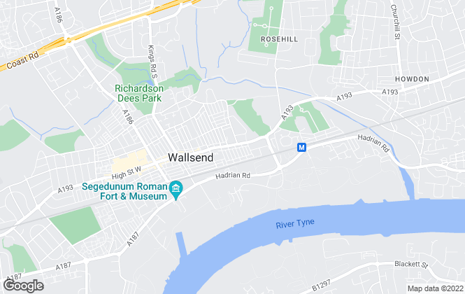 Map for Wallsend Lets, Wallsend