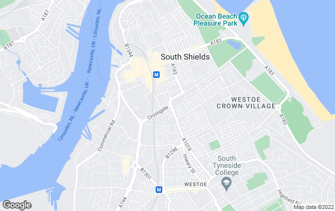 Map for PDQ Homes Estate Agents, South Shields