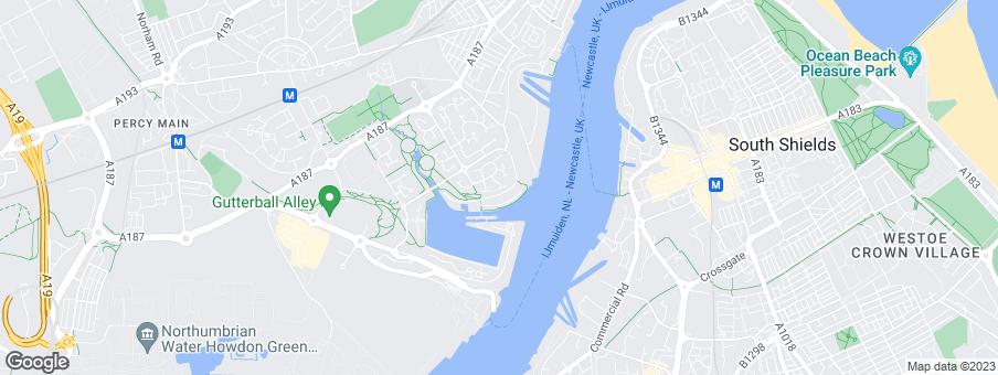 Map for Cussins Ltd