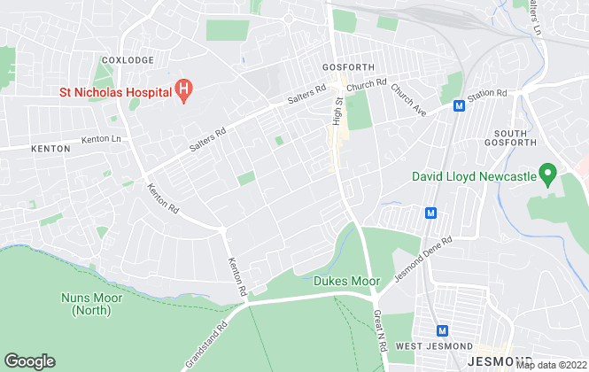 Map for Commercial and Co Sales and Lettings Consultants, Gosforth
