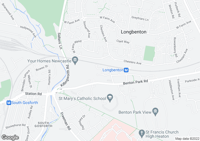 Map for PELDON CLOSE, SOUTH GOSFORTH