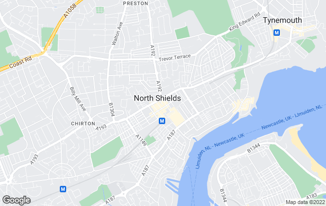 Map for Fresh Property Centre, North Shields