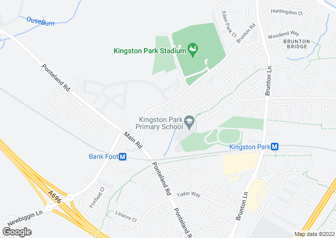 Map for Pinewood Close, Kingston Park.