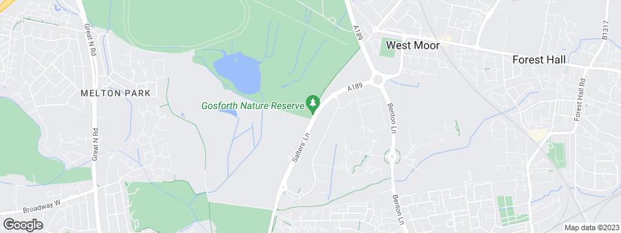 Map for Bellway Homes Ltd