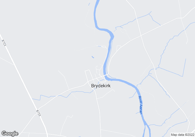 Map for 11 Riverside Gardens Brydekirk Annan