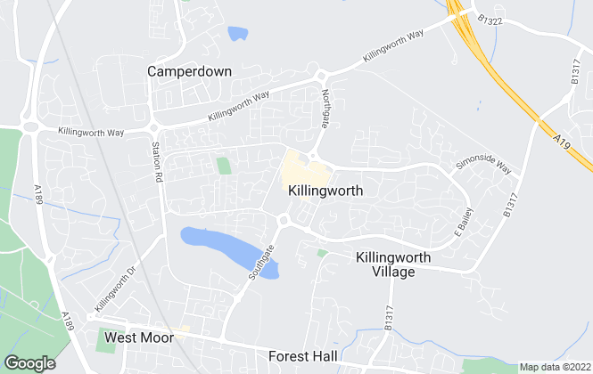 Map for Lucas James, Killingworth
