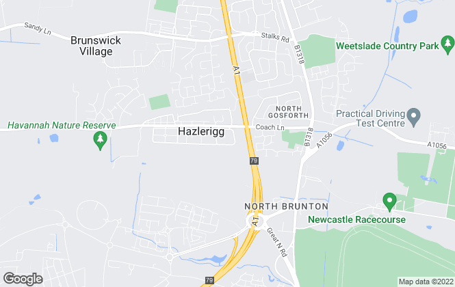 Map for Yu Lets, Newcastle Upon Tyne