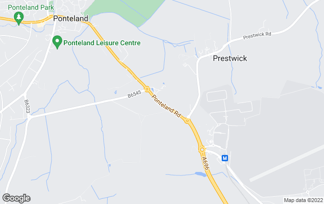Map for Goodfellows, Ponteland