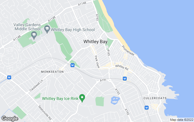 Map for Your Move , Whitley Bay