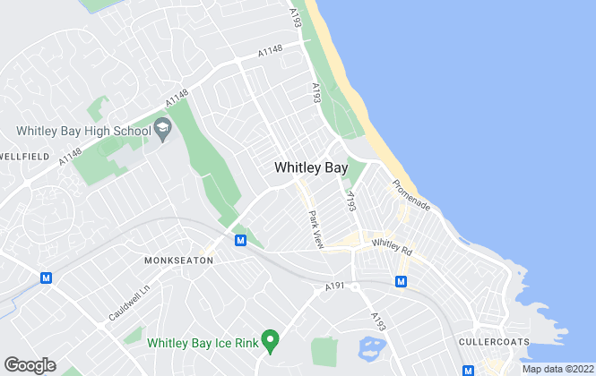 Map for Pattinson Estate Agents, Whitley Bay