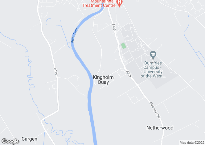 Map for Mcfarlane Avenue, Kingholm Quay, Dumfries DG1
