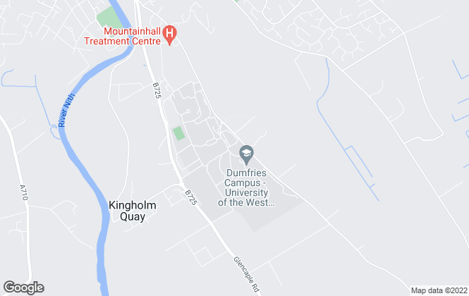 Map for THE CRICHTON TRUST, Dumfries