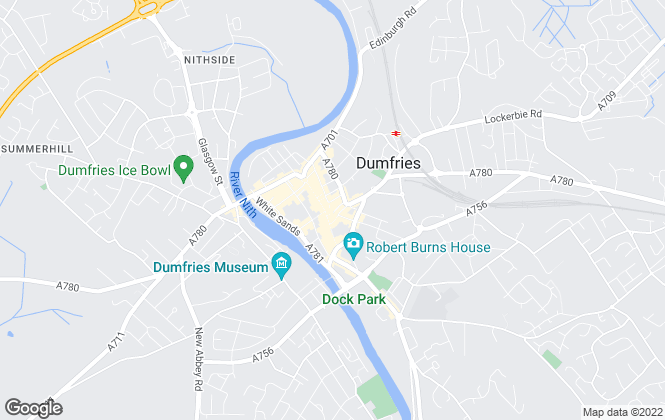Map for Your Move , Dumfries