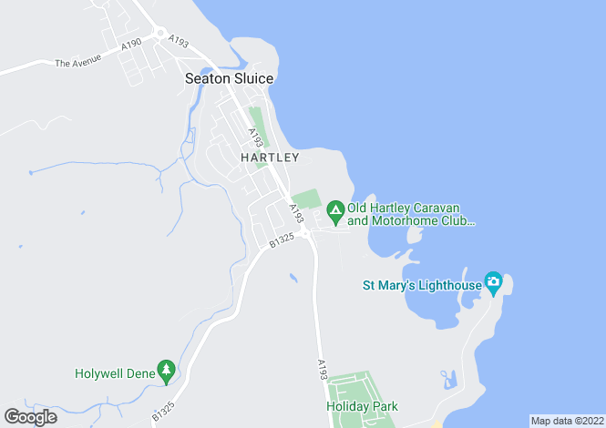 Map for St Marys Wynd, Seaton Sluice