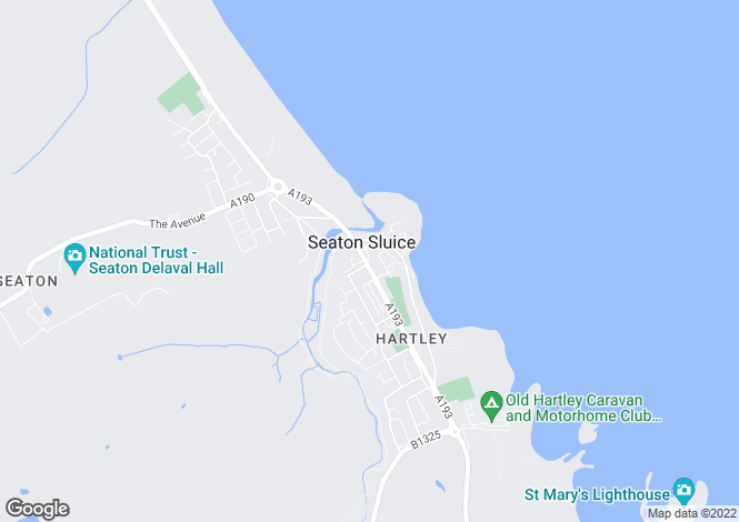 Map for Beresford Road, Seaton Sluice, Seaton Sluice, Tyne And Wear, NE26
