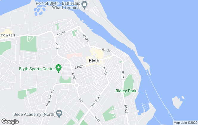Map for Rickard Chartered Surveyors & Estate Agents, Blyth