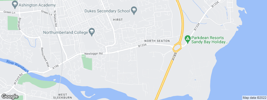 Map for Bellway Homes (North East)