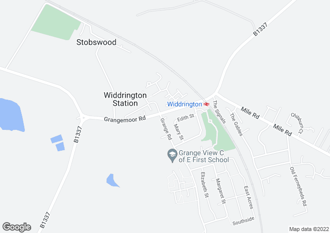 Map for Widdrington, Morpeth, NE61 5QX