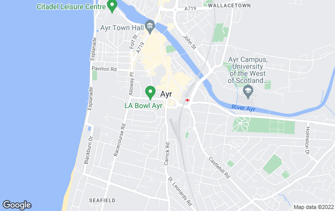 Map for Clyde Property, Ayr