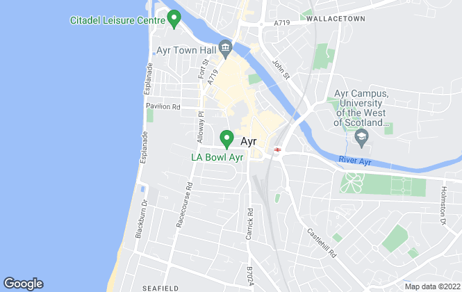 Map for Ayr Professional, Ayr - Resale