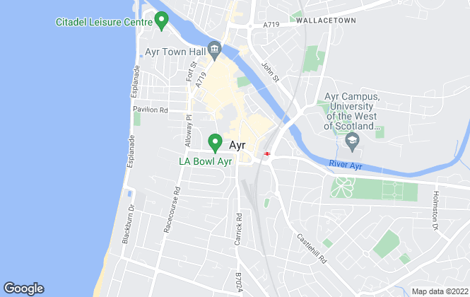 Map for CKD Galbraith, Ayr - Lettings