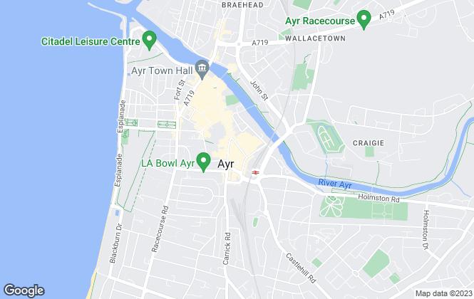 Map for Homesure, Ayr