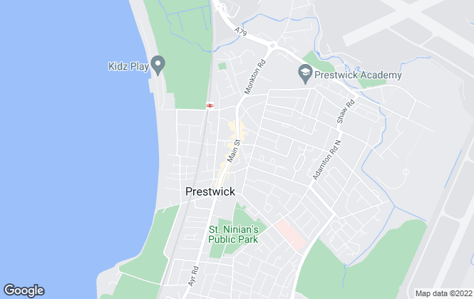 Map for Rentolease, Prestwick