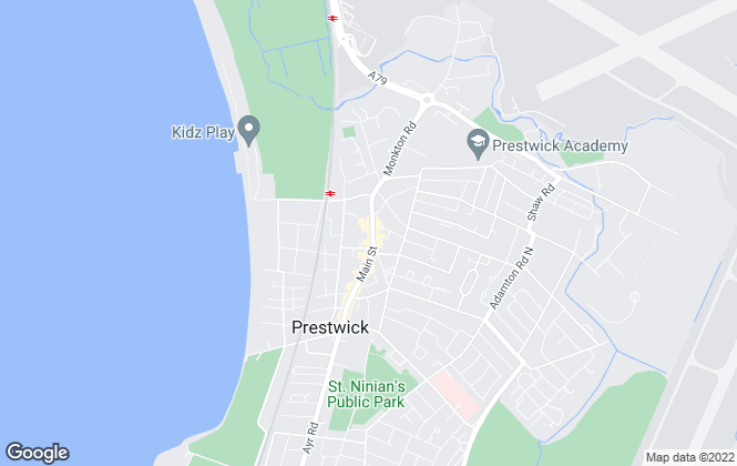 Map for Hoppers Estate Agency , Prestwick
