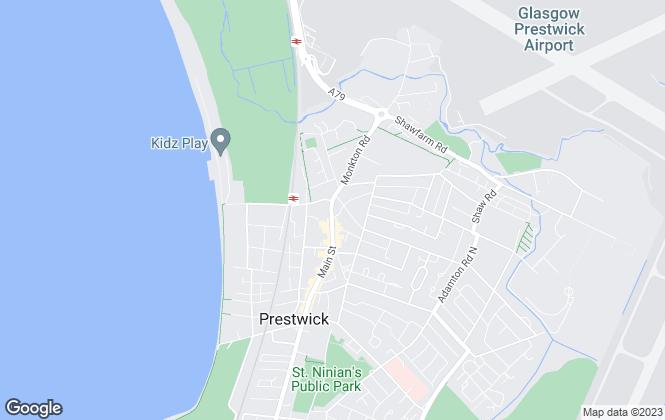 Map for Lomond , Prestwick