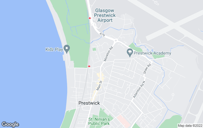 Map for Lime Green, Prestwick