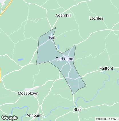 Map of property in Tarbolton