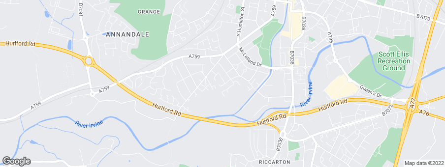 Map for Keepmoat Homes