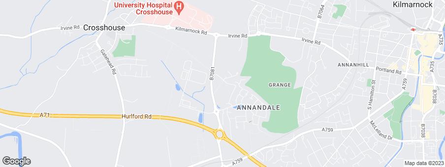 Map for Ogilvie Ltd