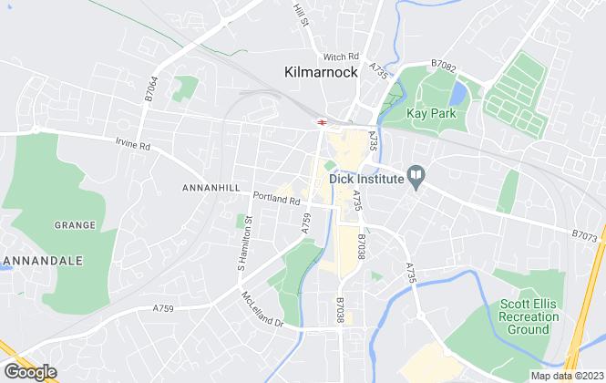Map for Property Matters Ltd , Kilmarnock