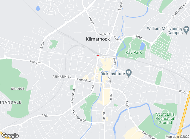 Map for Countrywide, Kilmarnock