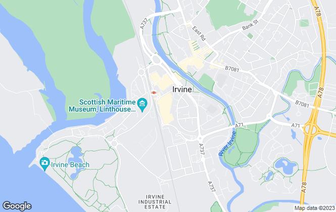 Map for Donald Ross Residential, Irvine